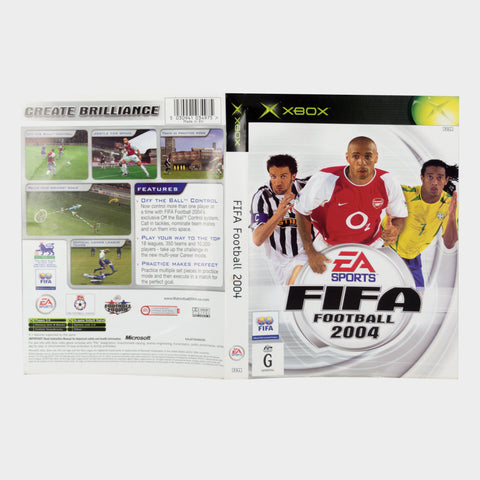 Ea Sports - Fifa Football 2004 Original Xbox Game Sleeve