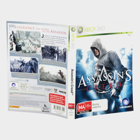 Assassin'S Creed 1 Xbox 360 Game Sleeve