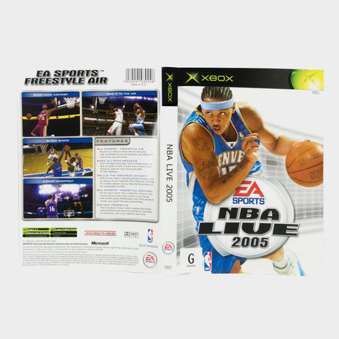 Ea Sports - Nba Live 2005 Original Xbox Game Sleeve
