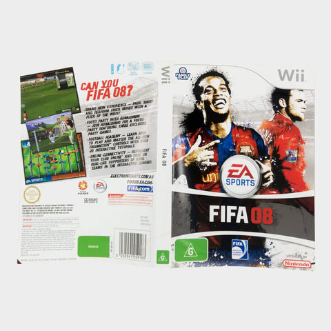 Ea Sports - Fifa 08 Wii Game Sleeve