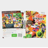 Bakugan Battle Brawlers Wii Game Sleeve