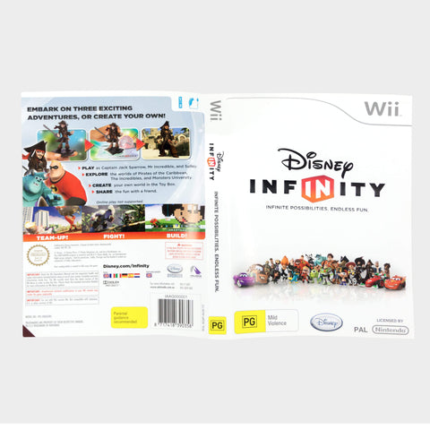 Disney Infinity Wii Game Sleeve