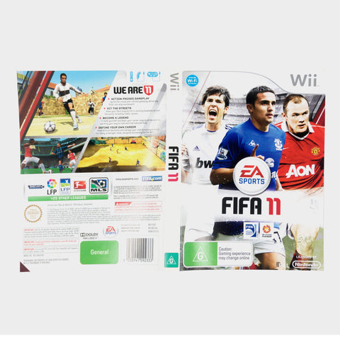 Ea Sports - Fifa 11 Wii Game Sleeve