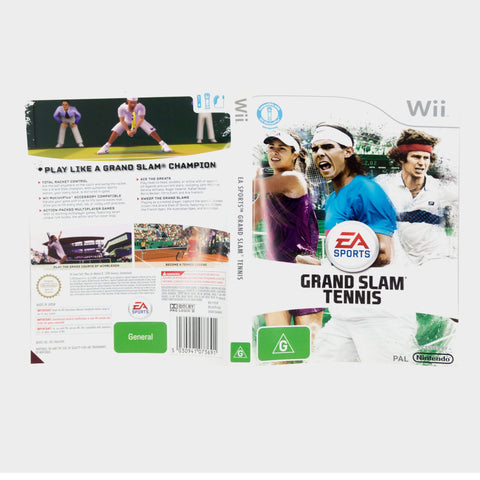 Ea Sports - Grand Slam Tennis Wii Game Sleeve