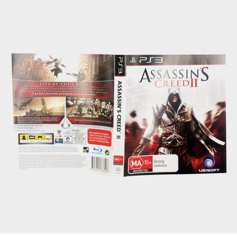 Assassin's Creed 2 Playstation 3 (Ps3) Game Sleeve