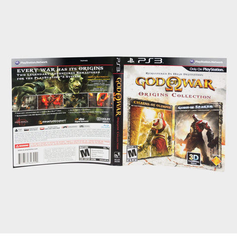 God Of War Origins Collection Playstation 3 (Ps3) Game Sleeve