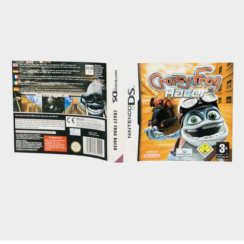 Crazy Frog Racer Nintendo Ds Game Sleeve