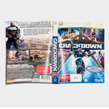 Crackdown Xbox 360 Game Sleeve