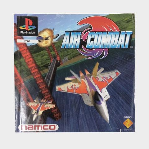 Air Combat Game Manual Playstation | Second Potion Australia