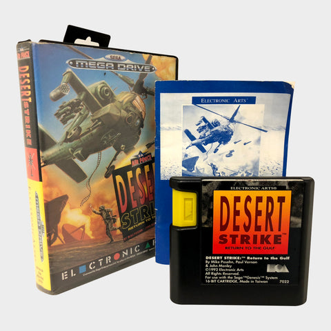 Desert Strike - Return to Golf Game Sega Mega Drive | SP Australia