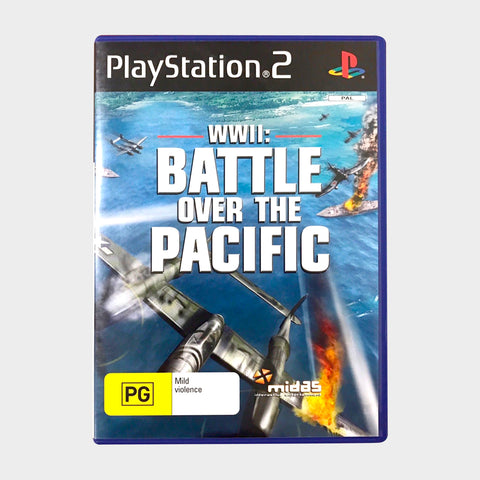 Battle Over The Pacific Game Playstation 2 | Second Potion Australia