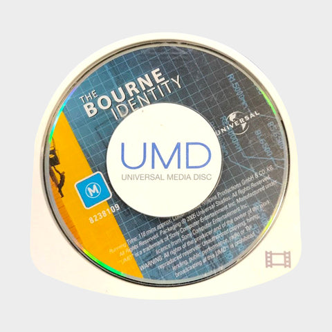 The Bourne Identity UMD Movie PSP | Second Potion Australia
