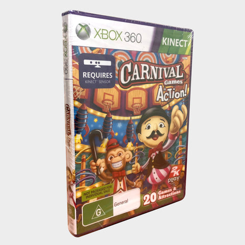 Carnival Games Kinect Game Xbox 360 | Second Potion Australia