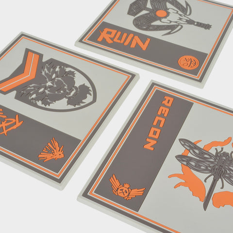 Call of Duty Black Ops Drink Coasters 3pc | Second Potion Australia