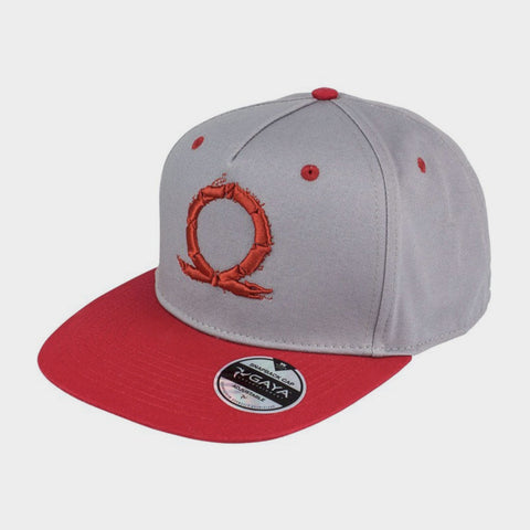Serpent Symbol Snapback Hat / God of War
