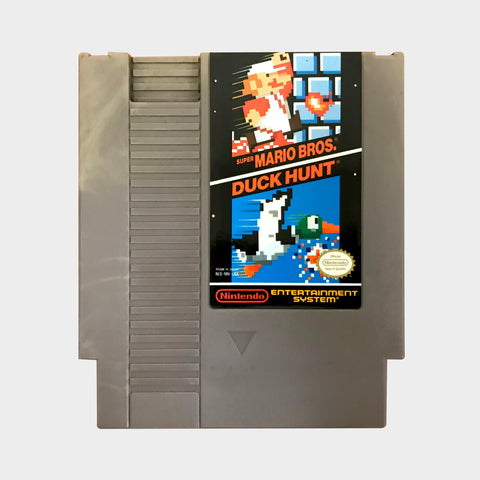 Super Mario Brothers and Duck Hunt Game NES | SP Australia