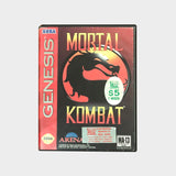 Mortal Kombat Game Sega Mega Drive | Second Potion Australia