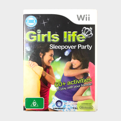 Girls Life Sleepover Party Game Wii | Second Potion Australia