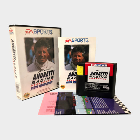 Mario Andretti Racing Game Sega Mega Drive | Second Potion Australia