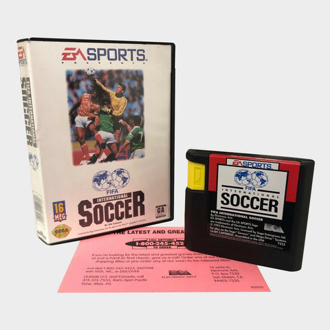 Fifa International Soccer Game / Sega Genesis
