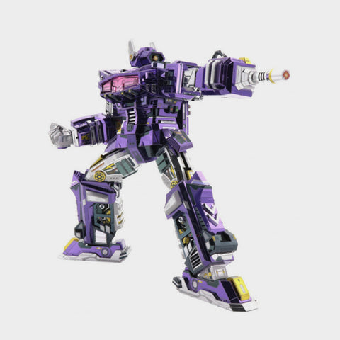 Transformers Generation 1 (One) Shockwave 3D Model | Australia