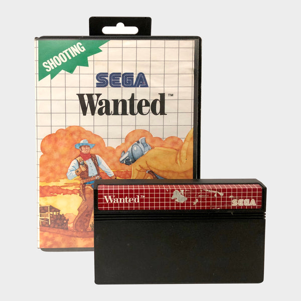 Wanted Game Sega Master System | Second Potion Australia
