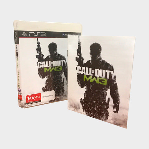 Modern Warfare 3 Game Playstation 3 | Second Potion Australia
