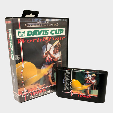 Davis Cup World Tour Game Sega Mega Drive | Second Potion Australia