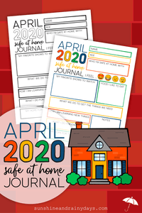 April 2020 Safe At Home Journal (PDF)
