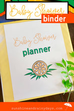 Baby Shower Binder With A Twist Of Lemon (PDF)