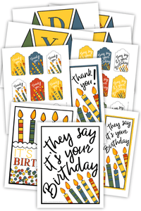 Birthday Printables (PDF)
