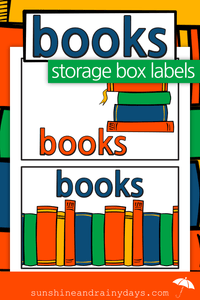 Books Storage Box Labels (PDF)