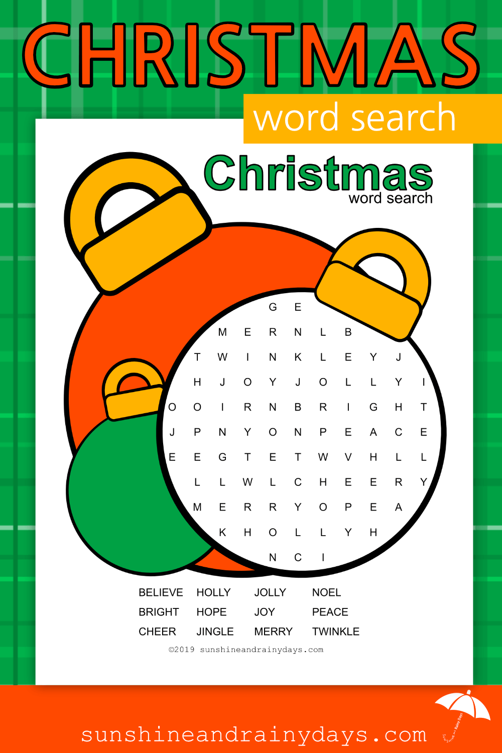 Christmas Word Search (PDF)