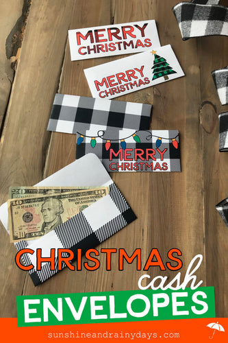 Christmas Cash Envelopes (PDF)