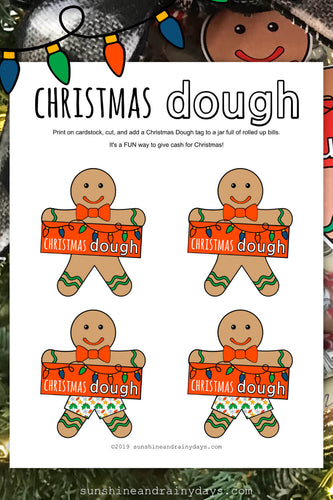 Christmas Dough Gingerbread Man (PDF)
