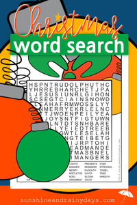 Christmas Word Search PDF