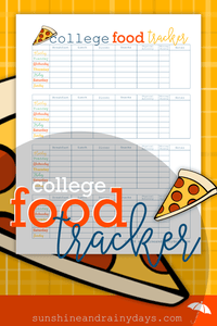 College Food Tracker (PDF)