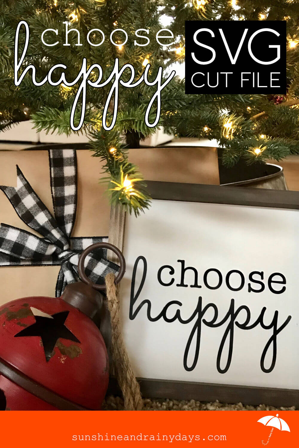 Choose Happy (SVG Cut File)
