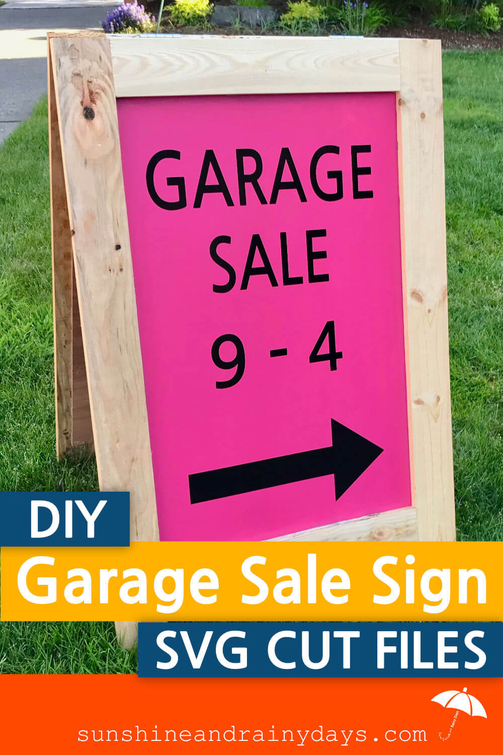 Garage Sale Sign (SVG Cut File)