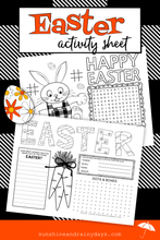 Easter Activity Sheet (PDF)