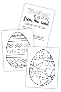 Easter Egg Hunt From The Road For Bloggers (PDF)