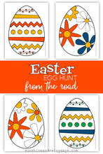 Easter Egg Hunt From The Road (PDF)