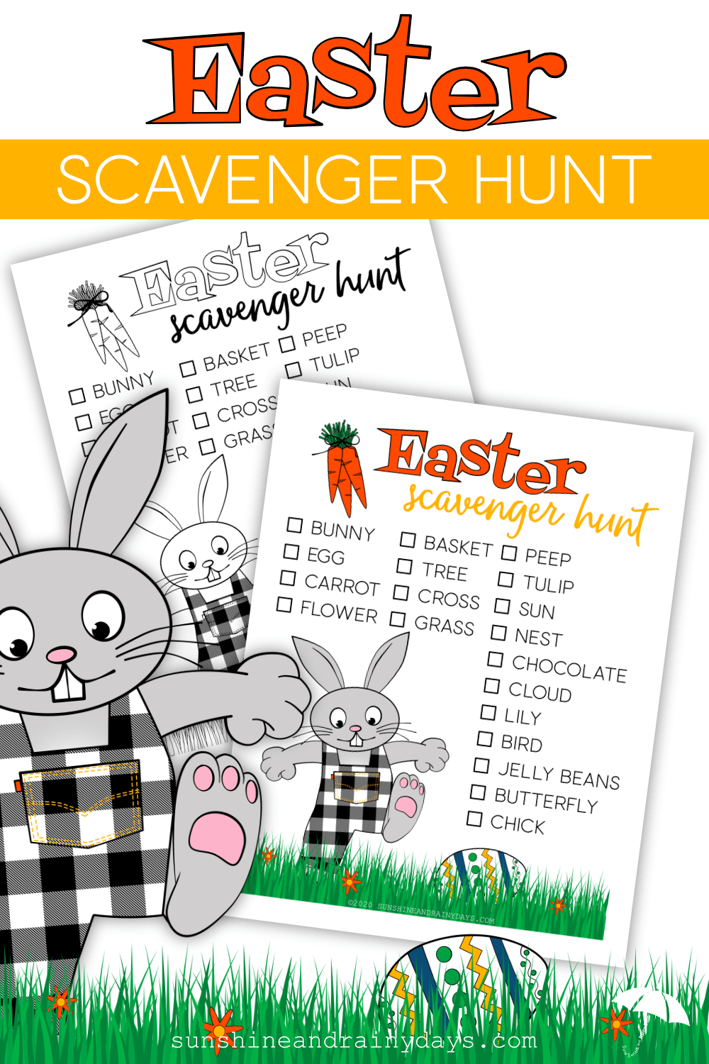 Easter Scavenger Hunt (PDF)