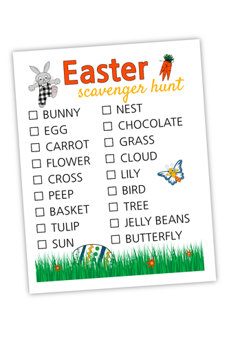 Easter Scavenger Hunt For Bloggers