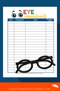 Eye Appointments (PDF)