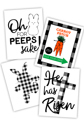 Farmhouse Easter Signs (PDF)
