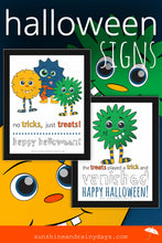 Halloween Signs (PDF)