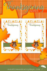 Thanksgiving Note PDF