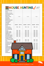 House Hunting Checklist (PDF)