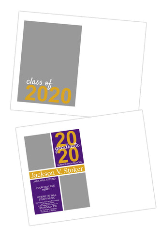 Graduation Announcement Template (Affinity Publisher)